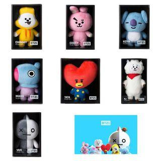 [OFFICIAL] BT21 STANDING PLUSH DOLL (MEDIUM)