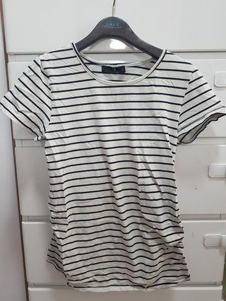 🚚 Striped maternity top