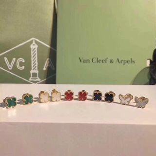 VCA Ear rings Authentic 18K Solid Gold