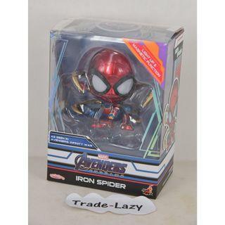 全新HOTTOYS HOT TOYS Cosbaby: Avengers 4 End Game 復仇者聯盟 Iron Spider 蜘蛛俠 - 具LED發光 + 磁力 功能