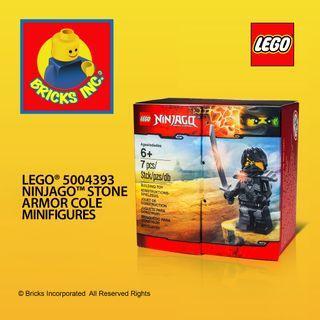 LEGO® 5004393 Ninjago™ Stone Armor Cole Minifigures