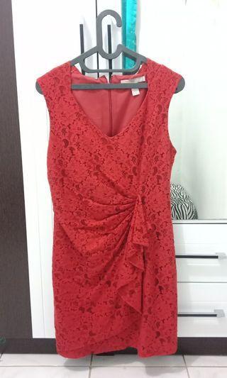 Forever21 Mididress merah