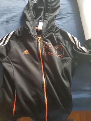 adidas f50 zip-up jacket