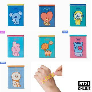 [OFFICIAL] BT21 KIDS BANDAGE (40 pcs)