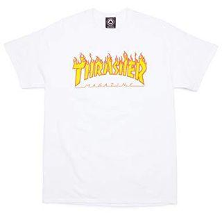 🚚 Thrasher Tee white