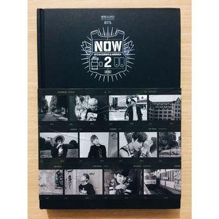 [RARE] Official BTS NOW 2 in Europe & America Photobook & DVD