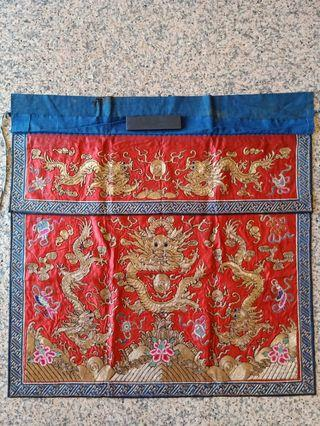 ? Straits chinese / chinese embroidered tokwi tok wee