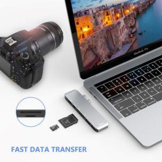 Flujo CH-32 Multiple USB Type C Adapter for MACBOOK Pro
