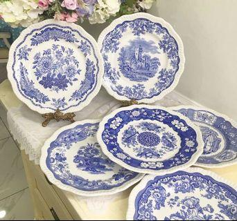 """Vintage Spode made in England """"Blue room collection"""""""