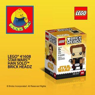 LEGO® 41608 Star Wars™ Han Solo Brick Headz