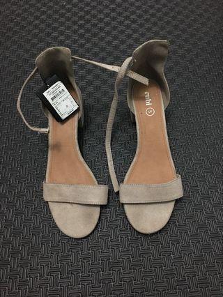 Rubi ankle block heels 41