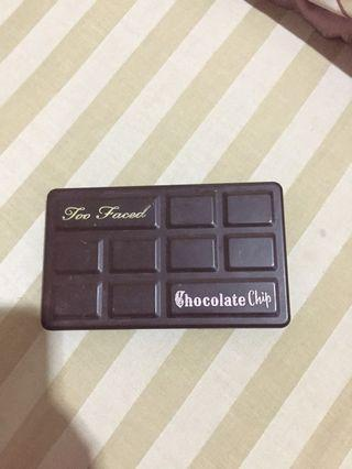 Too Faced Chocolate Chip Matte Eyeshadow Palette