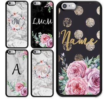 [PO] Customized Name Marble Casing for iPhones/ Marble case