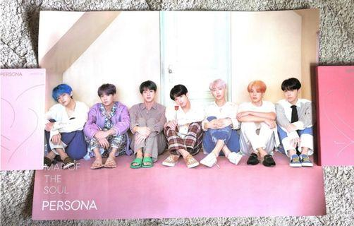 BTS Map of the Soul: Persona Ver 3 Poster