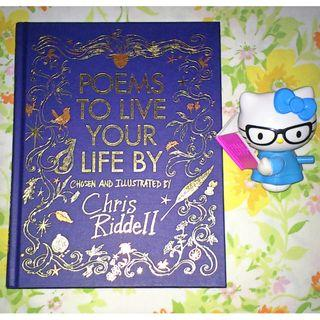 Poems to Live Your Life By by Chris Riddell (Author/Illustrator)