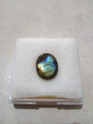 Labradorite colorful gemstone