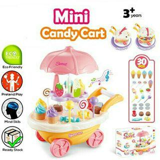 *FREE POST to West Malaysia only / Ready stock* Kids candy cart each as shown in design / color random. Free delivery is applied for this item.
