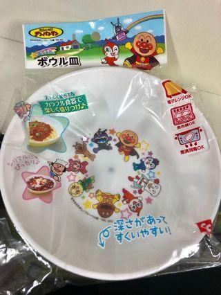 全新購自日本麵包超人膠碗