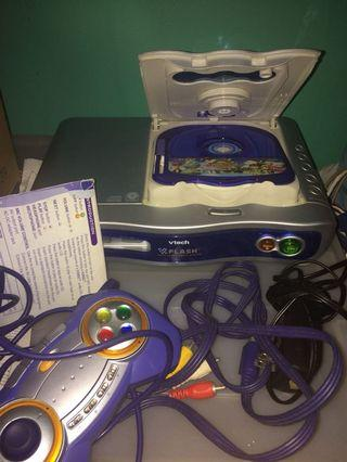Vtech V.FLASH WITH COMPLETE ACCESSORIES AND FREE GAME