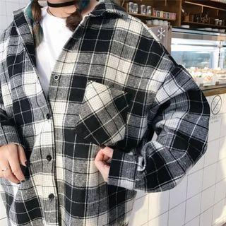 Flannel Cardigan