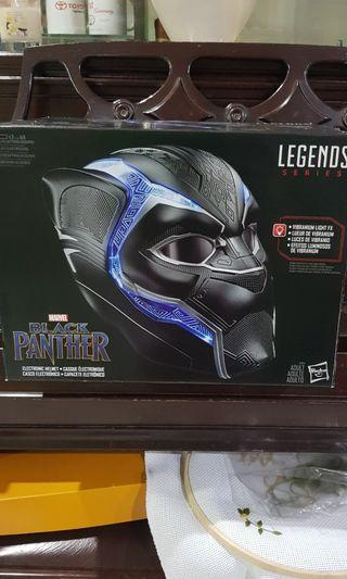 Authentic Black Panther Mask