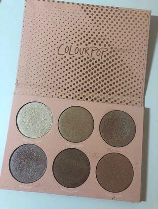 Colourpop Pressed Powder Highlighter Palette (In-Nude-Endo)
