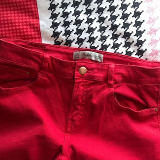 🚚 Red Trafaluc Jeans