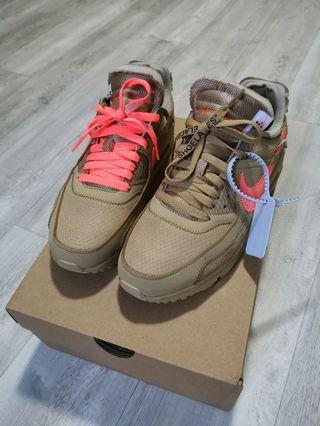 Nike Off White Airmax 90 Desert Ore