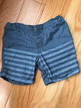 Gingersnaps Blue Stripes Shorts