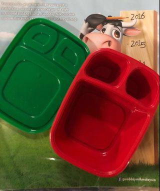 ❤️set of 3 Milo food containers