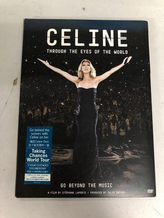 "Celine Dion ""Through The Eyes Of The World"" DVD"