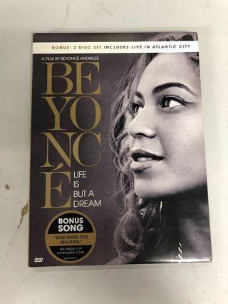 Beyonce LIFE IS BUT A DREAM 2 DVD
