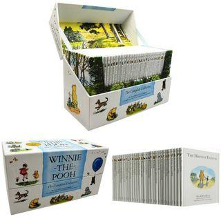 Winnie the Pooh Complete Collection 30 Books 小熊維尼30冊精裝