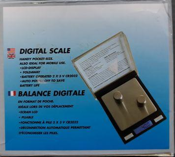 100g/0.01g Digital Scale Mini CD case Electronic Scale