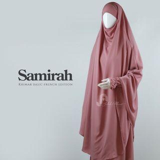 Set Gamis Syar'i Polos Jilbab Panjang