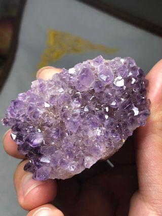 紫晶花擺件(37.9*58.5*44.6mm)