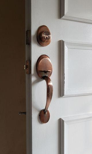 Door lock replacement