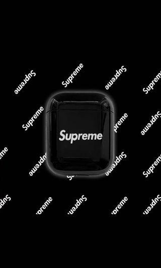 Supreme airpod cover