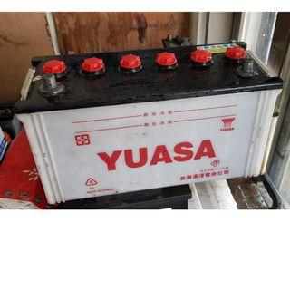 (二手中古電池) YUASA 115E41R(95E41R加強) 汽車電池 數值漂亮,品項優 貨車電池/堅達/勁旺