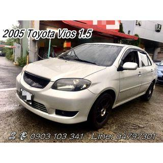 2005 Toyota Vios 1.5