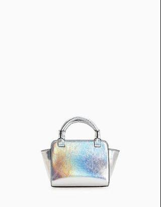 Stradivarius mini bag hologram ( sling bag )/ tas stradivarius