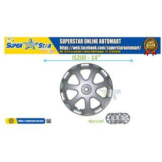 IS200 14 Inch Wheel Cover (4PCS)