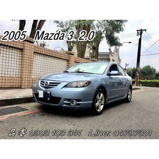 2005 Mazda 3 2.0