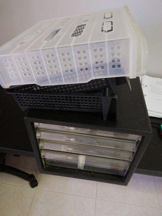 Paper storage good for temporary office