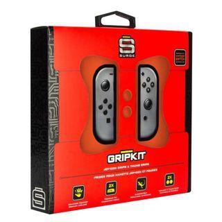 Surge Nintendo Switch Grip Kit, Joy Con & Thumb Grips