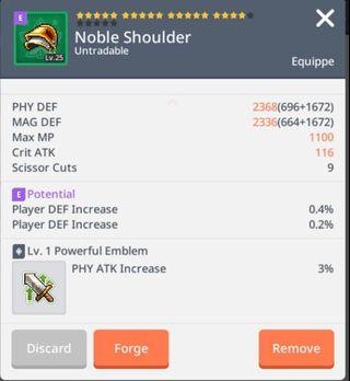 A2Z Phy Atk Noble Shoulder