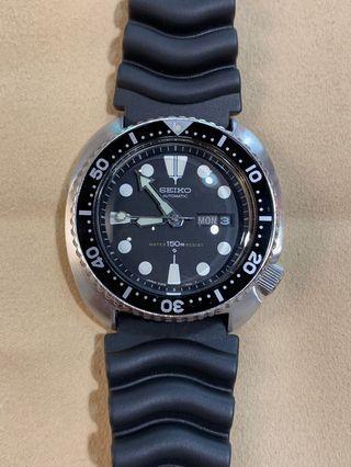 中古 二手 Seiko 6309-7049 vintage turtle 玻璃已換 鮑魚 潛水錶