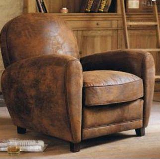 distress brown camel Armchair