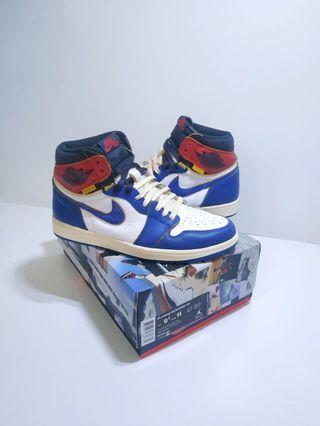 🚚 Jordan 1 union la blue toe