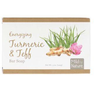 [現貨] Mild by Nature, Energizing Turmeric & Teff Bar Soap 薑黃丶畫眉草怡神皂